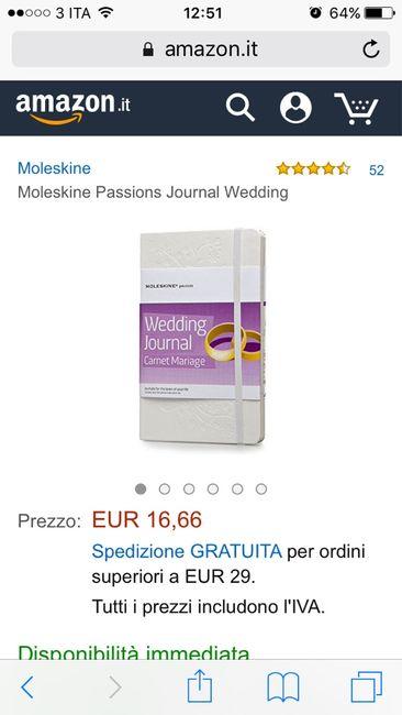 Agenda moleskine wedding journal - 1