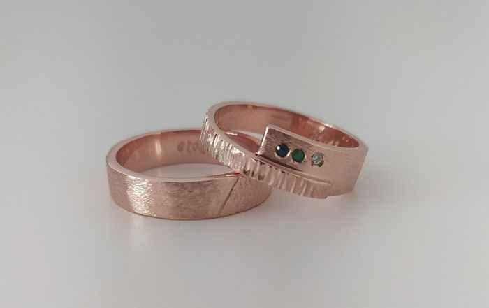 Fedi oro rosa 🥰 - 1