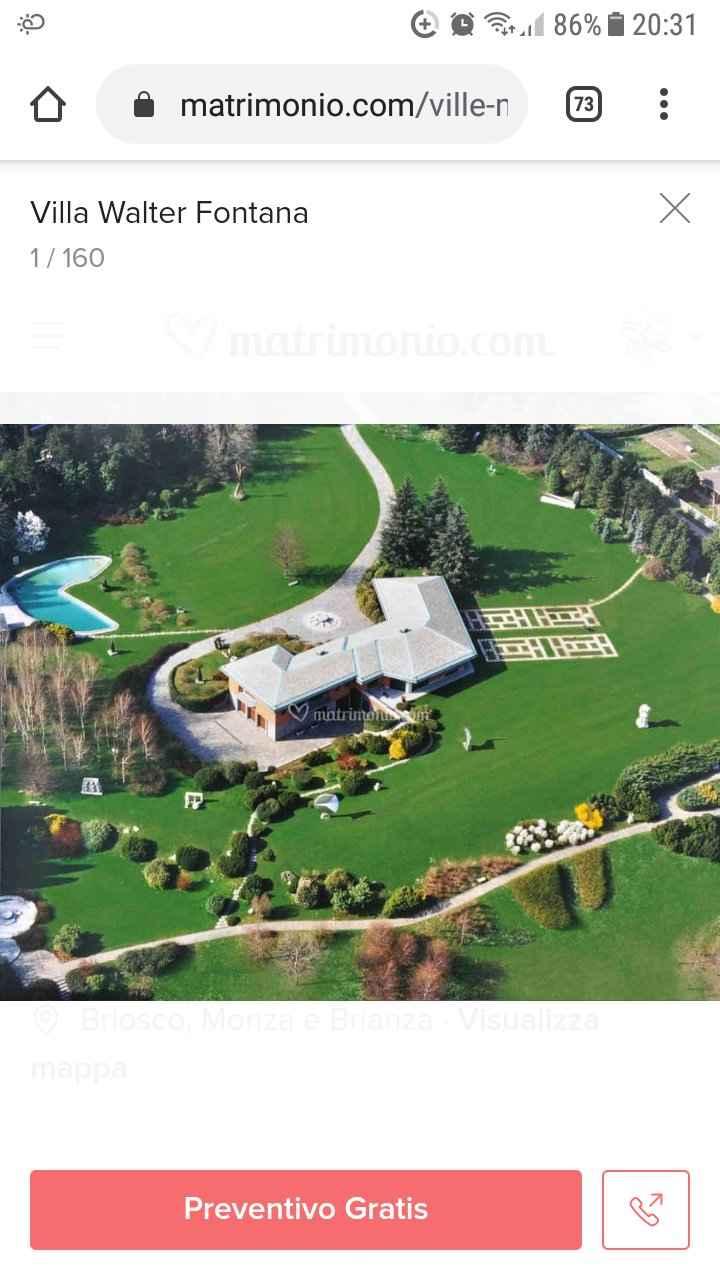 Chi sogna di sposarsi in un posto immerso nel verde? - 1