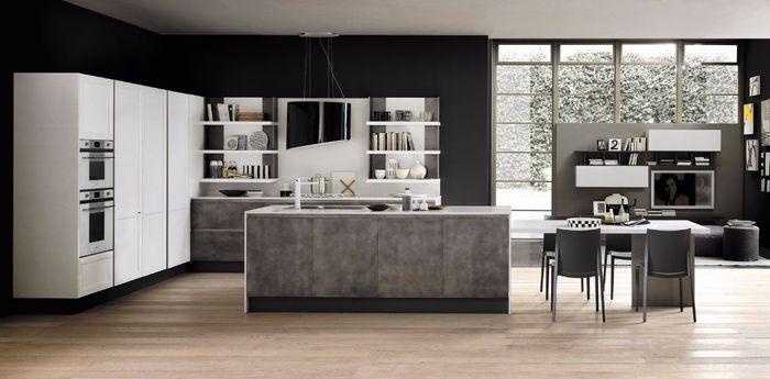 Cucina effetto cemento vivere insieme forum - Top cucina in cemento ...