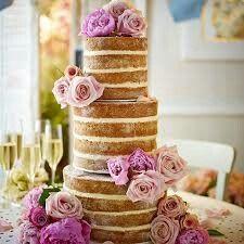 Naked cake,vi piace? - Ricevimento di nozze - Forum