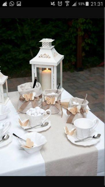 Addobbi tavoli confettata e bomboniere fai da te forum for Decorazioni da tavolo