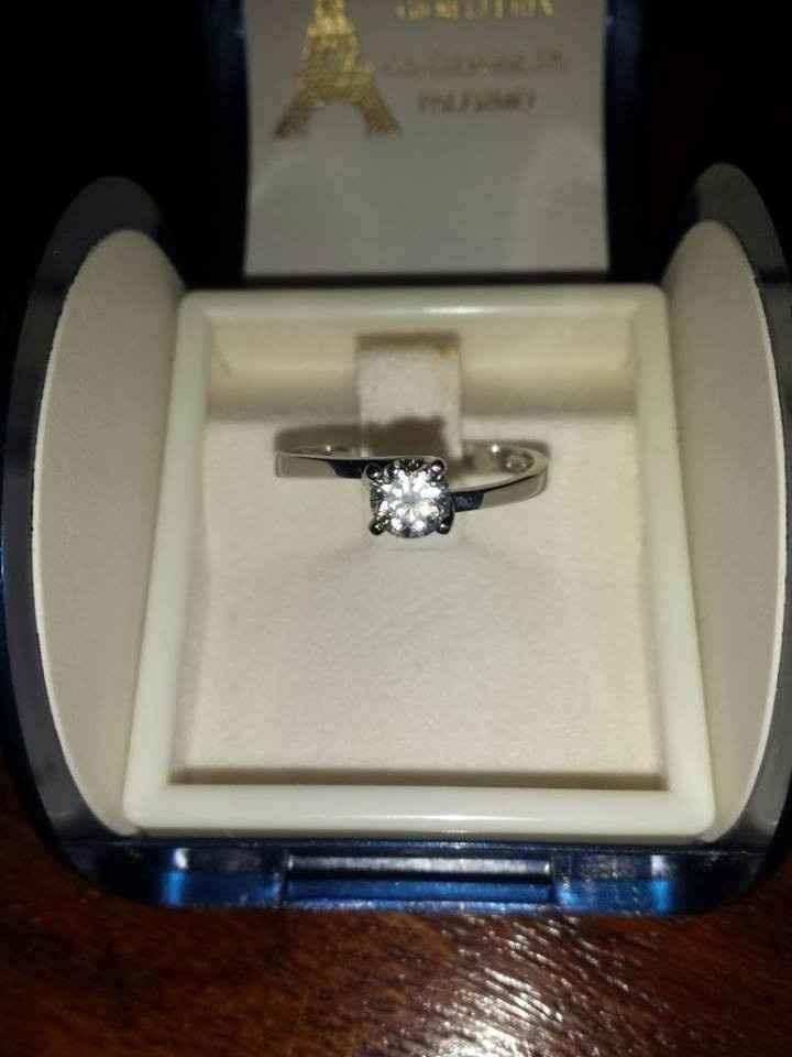 Il mio belllissimooo anello