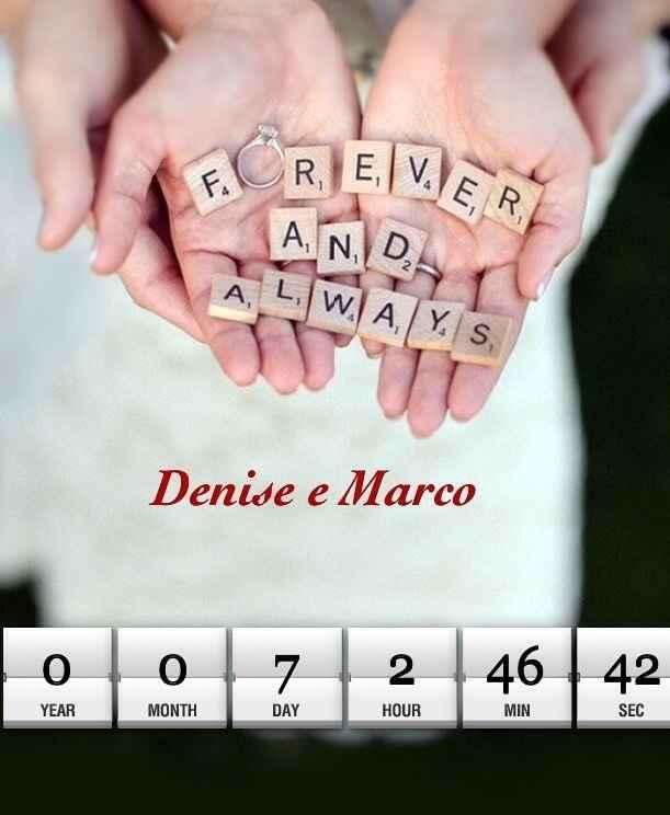 Ultimo countdown ❤️❤️❤️