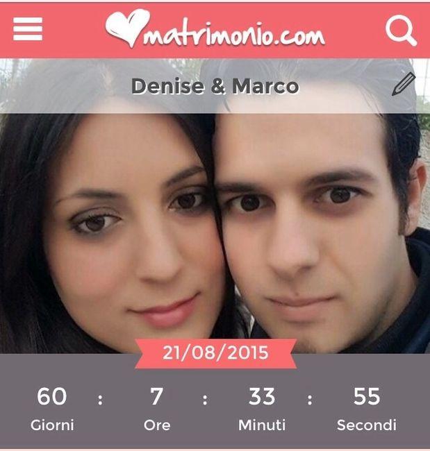 -2 mesi al mio matrimonio