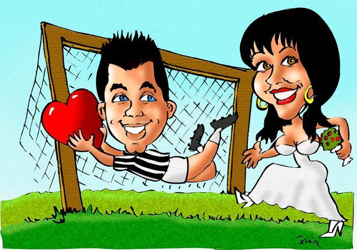 Matrimonio Tema Juventus : Caricature forum matrimonio