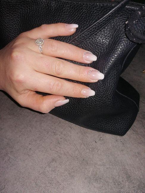 Sposine dolcissime oggi faccio la prima prova unghie, mi fate vedere le vostre? 2