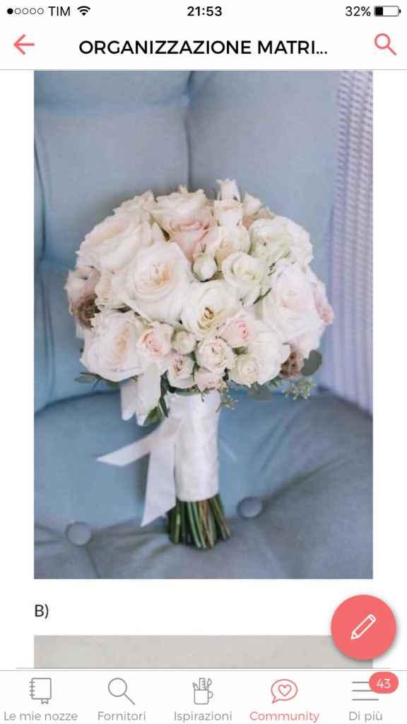 Bouquet rose - 1