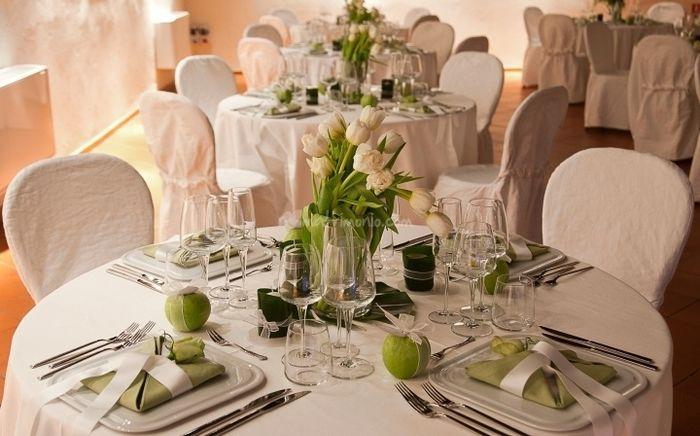 Segnaposto Matrimonio Verde Mela.Riflessioni Sul Colore Tema Del Mio Matrimonio Ricevimento Di