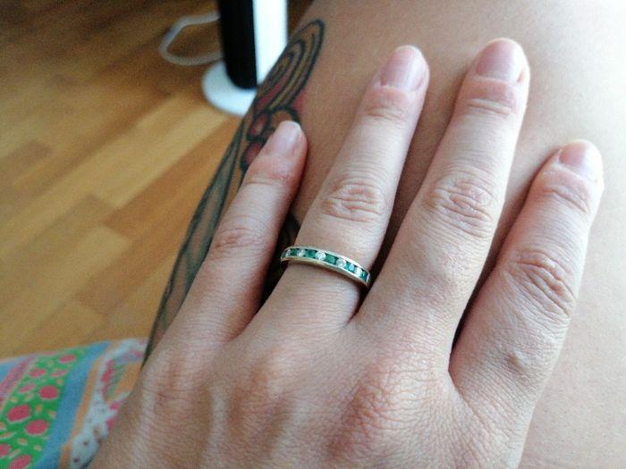 E ora mostraci una foto del tuo anello di fidanzamento! 28