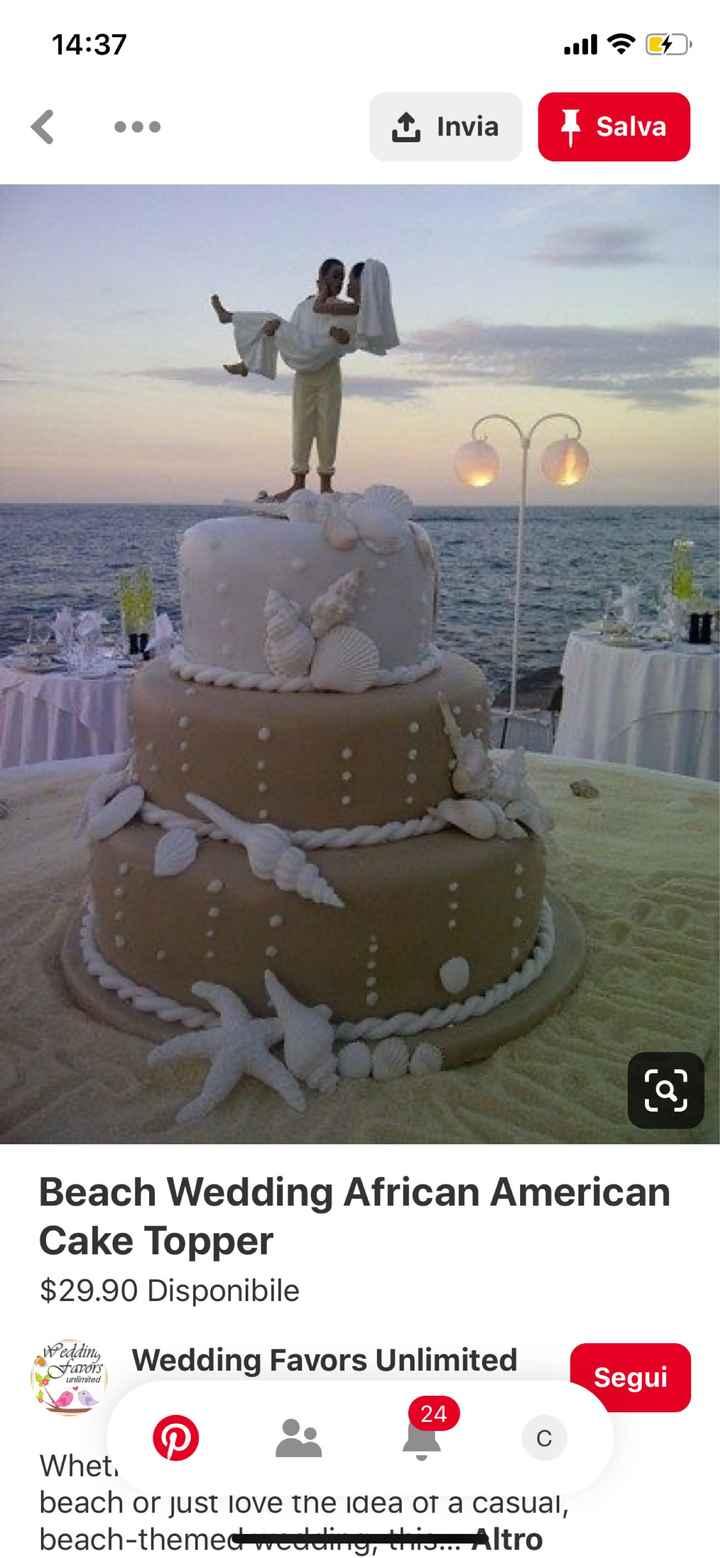 Matrimonio tema mare - 1