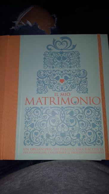 Per le sposine che hanno il diario del matrimonio... - 1