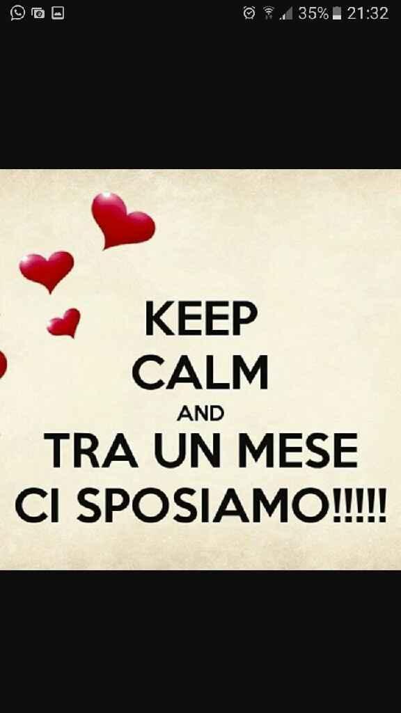 Keep calm - 1