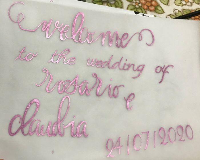 Welcome ti the wedding ! 3
