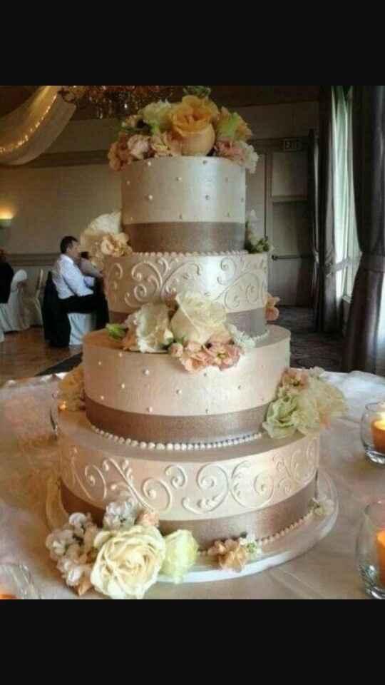 Come sarà la vostra torta di matrimonio? - 1