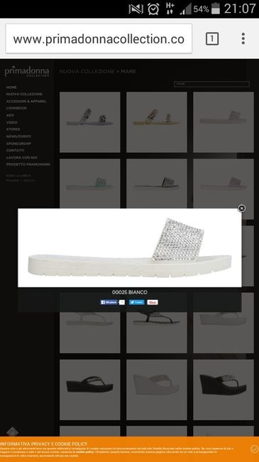 Pantofole da stanza sposa - 1