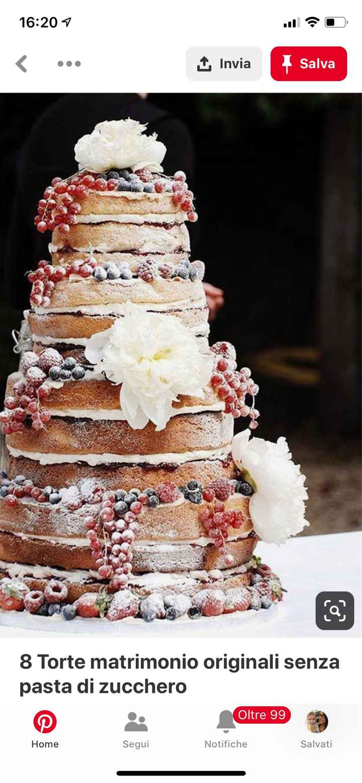 Torta nuziale. - 1