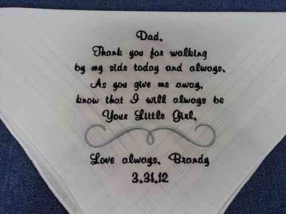 regalo papà fazzoletto