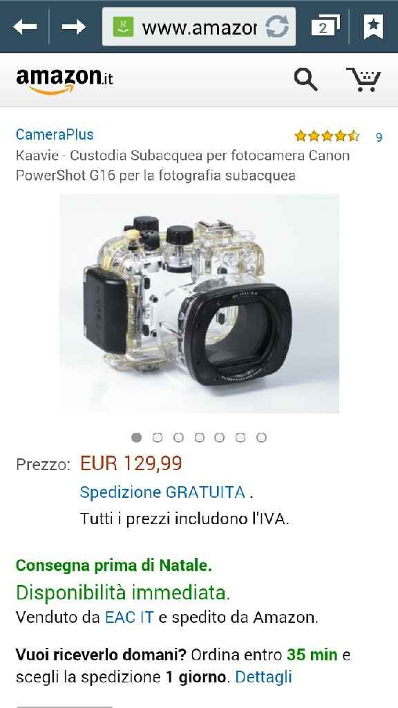 Regalo fm macchina fotografica o gopro????? - 1