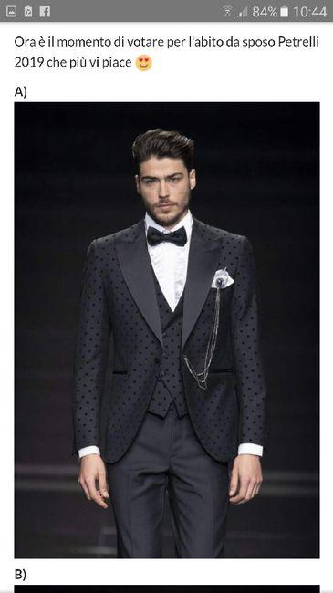 4 abiti Petrelli 2019 - scegli il tuo preferito - 1