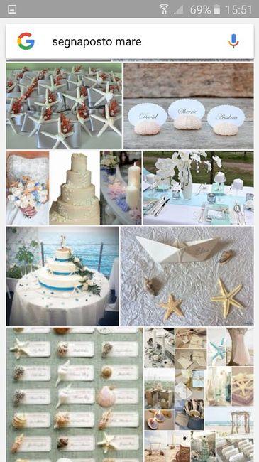 Segnaposto Matrimonio Tema Napoli : Segnaposto tema mare fai da te forum matrimonio
