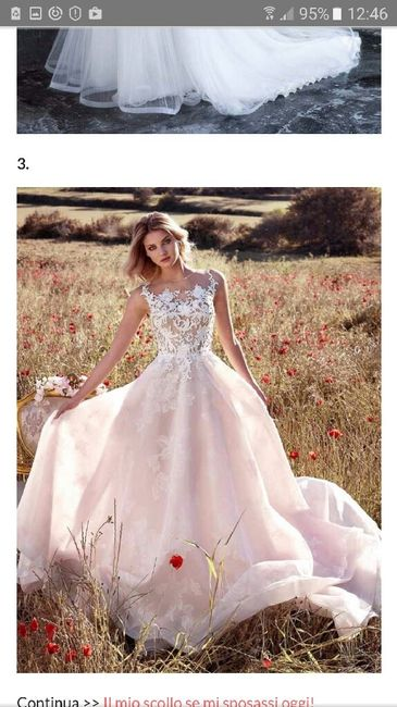Se mi sposassi oggi il mio look sarebbe... - 1