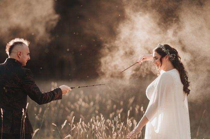 Matrimonio magico, 30 persone Ottobre 2020. Rito della sabbia. Harry potter ha fatto avverare la magia 11