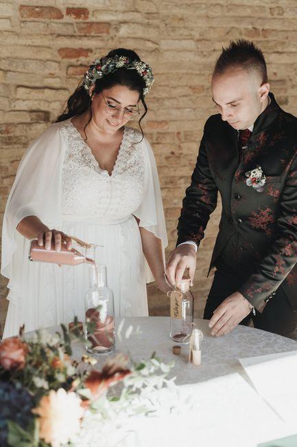 Matrimonio Harry Potter. Rito della Sabbia. 16