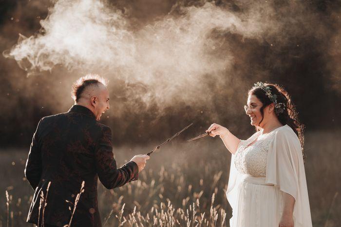 Matrimonio Harry Potter. Rito della Sabbia. 30