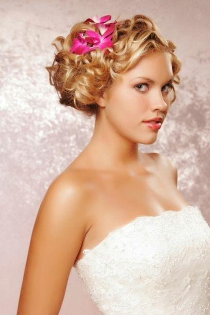 Popolare Acconciatura sposa capelli corti - Moda nozze - Forum Matrimonio.com WS84