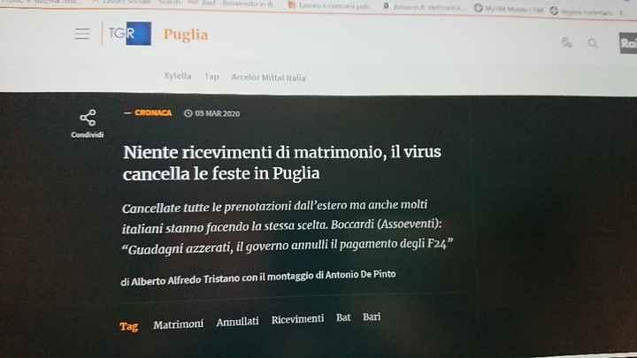 Matrimoni cancellati in Puglia - 1