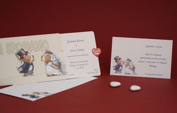 Favorito Inviti originaliiii - Organizzazione matrimonio - Forum Matrimonio.com AZ17