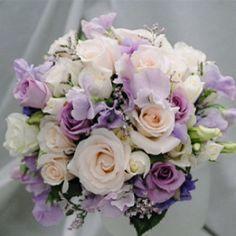 Bouquet bianco e glicine(lilla) - 2