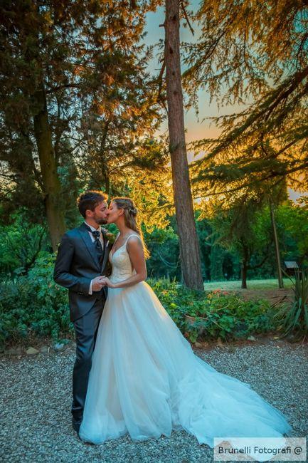 Finalmente marito e moglie 💛 5