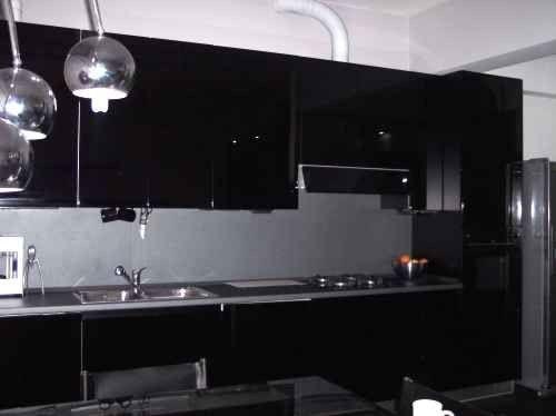 8 cucina nera foto for Cucina nera