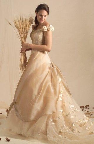 Bouquet Sposa Vestito Champagne.Abiti Color Champagne Moda Nozze Forum Matrimonio Com