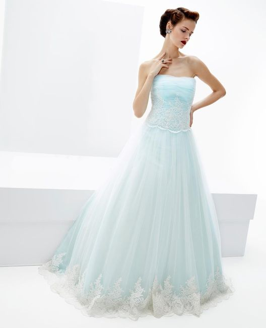 2ee1ea0bb141 Abiti color tiffany - Moda nozze - Forum Matrimonio.com