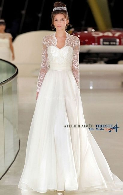 4896b35963ad Abiti manica lunga - Moda nozze - Forum Matrimonio.com
