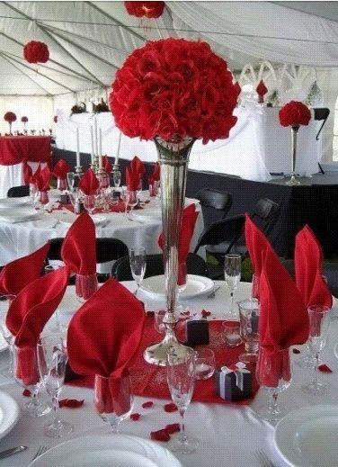 Tema Matrimonio In Rosso : Tema in rosso foto organizzazione matrimonio