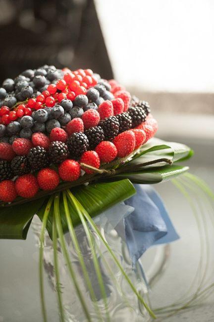 Bouquet di frutta verdura moda nozze forum for Decorazioni con verdure e ortaggi