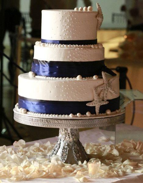 Matrimonio Tema Carta Da Zucchero : Le più belle torte nuziali blu ricevimento di nozze