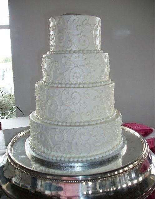 Le pi belle torte nuziali bianche pagina 2 for Piani domestici a forma di t