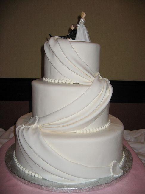Preferenza Le più belle torte nuziali bianche - Ricevimento di nozze - Forum  IE05