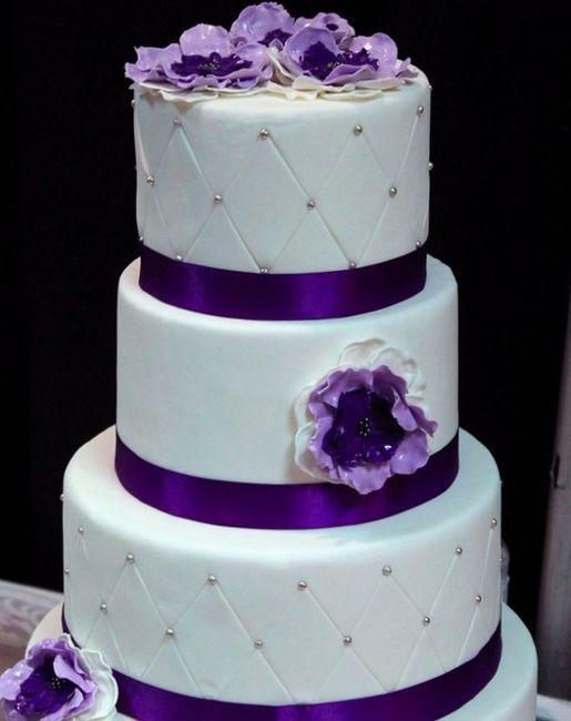 Miniature Square Cake Two Layer