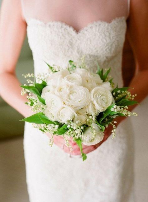 Bouquet Sposa Per Abito Pizzo.Bouquet Come Sceglierlo In Base Al Vestito Moda Nozze Forum