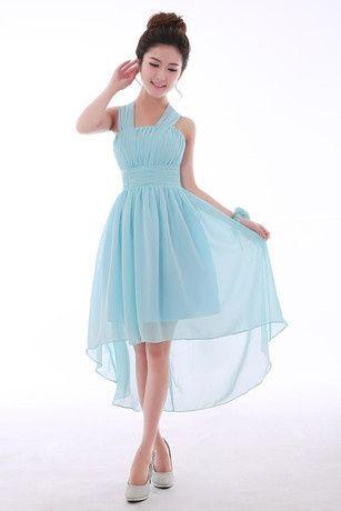 Vestito Azzurro Matrimonio : Abiti damigella azzurro moda nozze forum matrimonio
