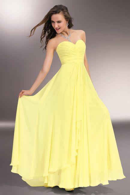 Vestito Matrimonio Uomo Giallo : Abiti damigella gialli moda nozze forum matrimonio