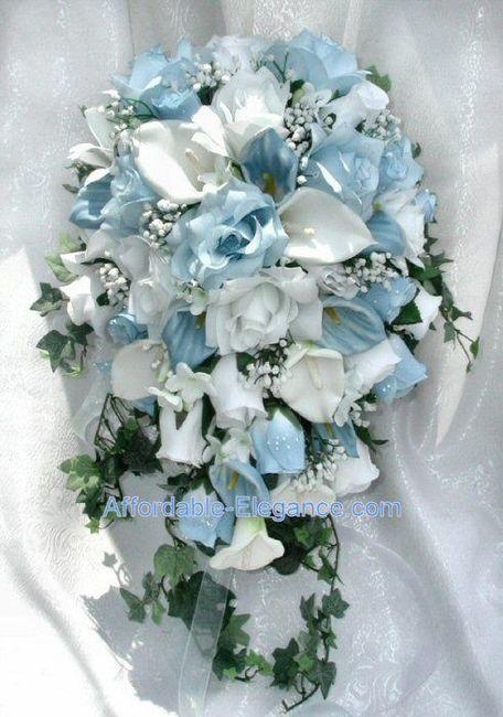 Bouquet Sposa Azzurro.Bouquet Azzurri Moda Nozze Forum Matrimonio Com