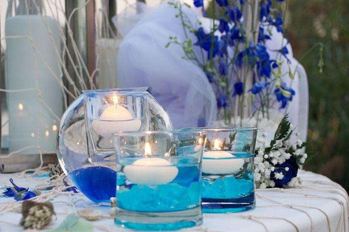 Centrotavola Matrimonio Azzurro : Centrotavola azzurri ricevimento di nozze forum