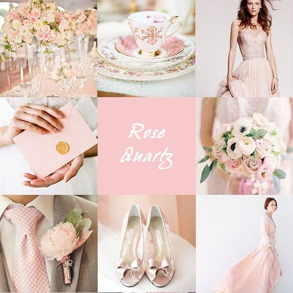 Bouquet Sposa Rosa Quarzo.Matrimonio Rose Quartz Colore Pantone 2016 Moda Nozze Forum